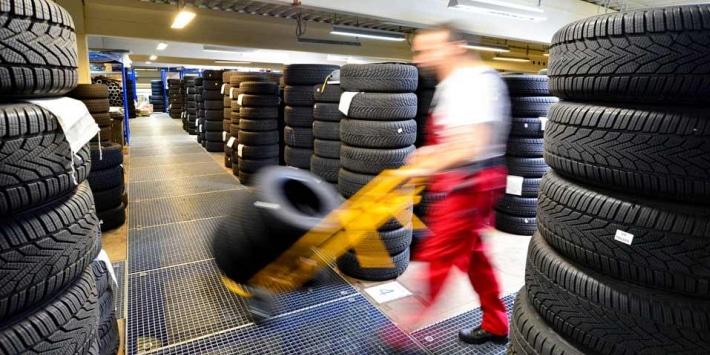Almacenar neumáticos