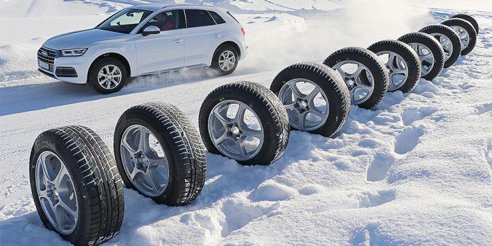 Auto Bild ha probado y ha comparado 10 neumáticos de invierno para SUV en su último test de neumáticos de 2018