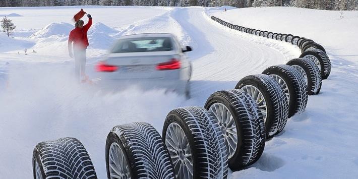 Test de neumáticos de invierno de AutoBild 2017