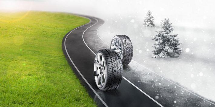 Circular con neumáticos de verano