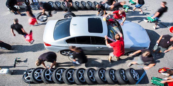 La revista alemana Auto Bild ha probado y comparado 11 neumáticos deportivos de 18 pulgadas