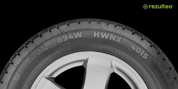 Fecha de fabricación neumáticos