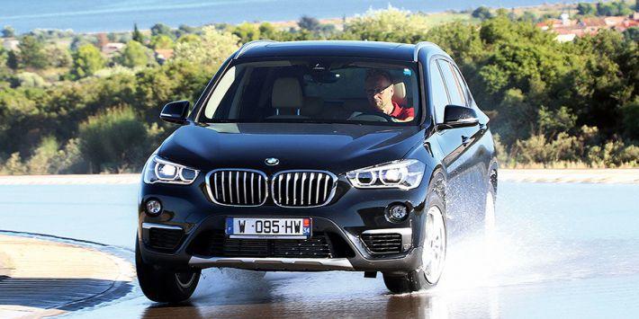 La revista alemana ha comparado los 10 mejores neumáticos para SUV probándolos en un BMW X3