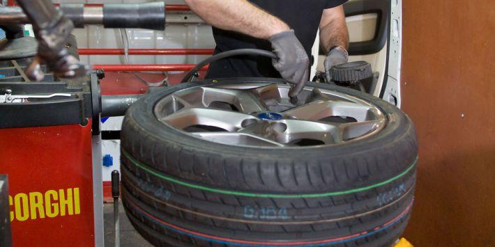 Montaje de neumáticos a domicilio