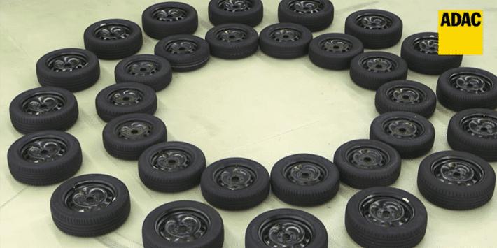 El ADAC compara 30 neumáticos de verano 2018