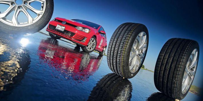 Test de neumáticos de verano altas prestaciones de AutoExpress