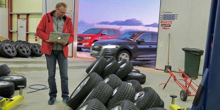 Auto Bild ha probado y comparado 7 neumáticos para todas las estaciones en la medida 235/55 R19