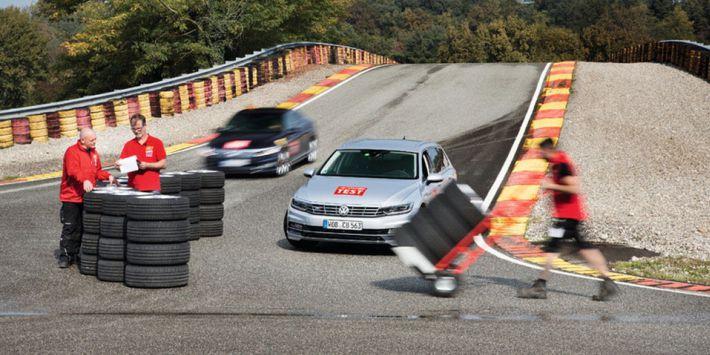 La revista ACE Lenkrad compara 11 neumáticos de verano de 18 pulgadas