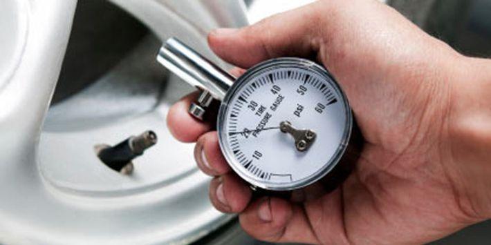 Aparato para pedir la presión de tus neumáticos