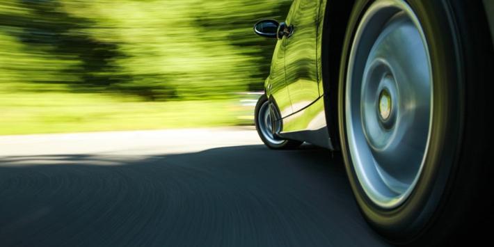 Rodaje de un neumático nuevo